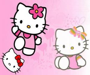 Puzle Hello Kitty