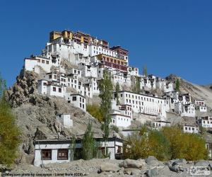 Puzle Hemis. klášter, Indie