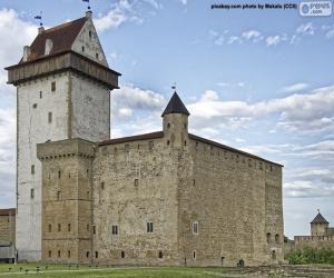 Puzle Hermann hrad, Estonsko