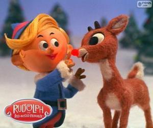 Puzle Hermey a Rudolf