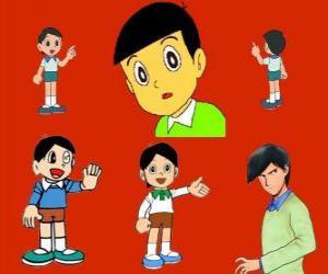 Puzle Hidetoshi Dekisugi, Nobita spolužák