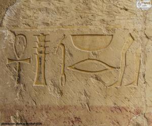 Puzle Hieroglyfické