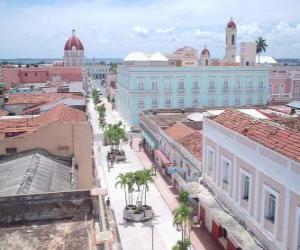 Puzle Historické centrum Cienfuegos, Kuba