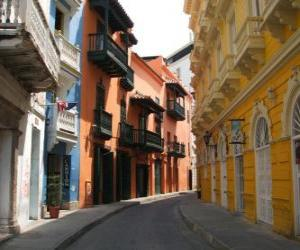 Puzle Historické centrum Coro, Venezuely
