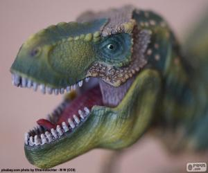 Puzle Hlava dinosaura