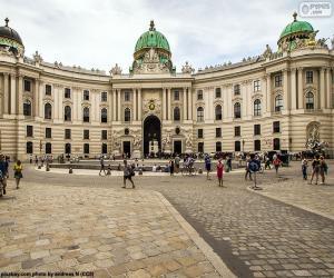 Puzle Hofburg, Rakousko