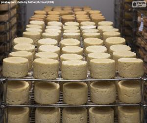 Puzle Hojení sýrů