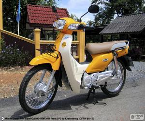Puzle Honda Super Cub
