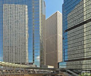 Puzle Hong Kong budovy