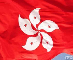 Puzle Hongkongská vlajka