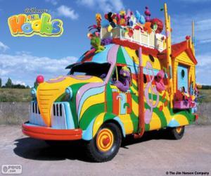 Puzle Hoobmobile městě Hobbs