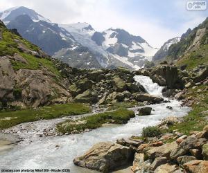 Puzle Hory Susten, Švýcarsko