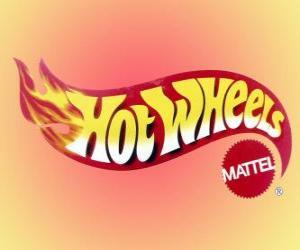 Puzle Hot Wheels logo od Mattel