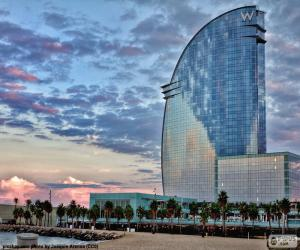 Puzle Hotel W Barcelona