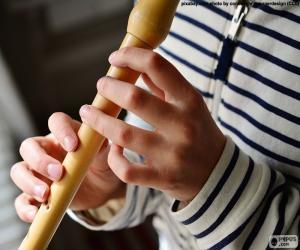 Puzle Hra na flétnu