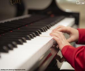 Puzle Hra na klavír