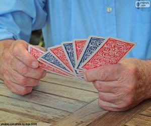 Puzle Hrací karty