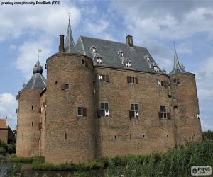 Puzle Hrad Ammersoyen, Nizozemsko