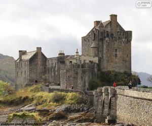 Puzle Hrad Eilean Donan, Skotsko