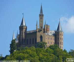 Puzle Hrad Hohenzollern, Německo