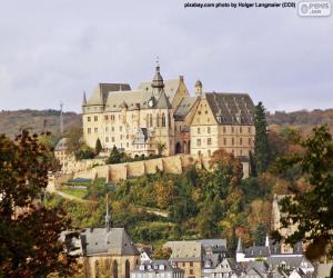 Puzle Hrad Marburg, Německo