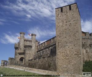 Puzle Hrad Ponferrada, Španělsko