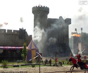 Puzle Hrad středověku