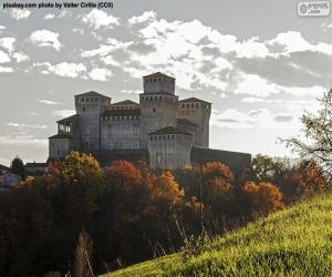 Puzle Hrad Torrechiara, Itálie