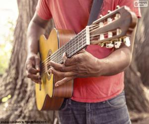 Puzle Hraní na kytaru