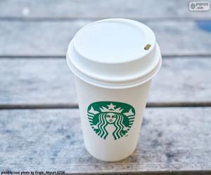Puzle Hrnek Starbucks