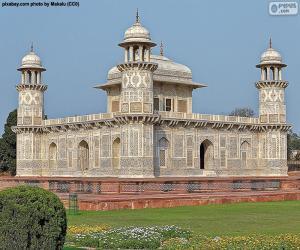 Puzle Hrob jsem ' timād-ud-Daulah, Indie