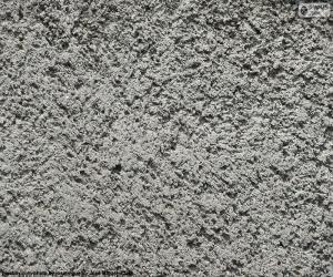 Puzle Hrubý cement stěny