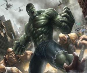 Puzle Hulk s prakticky neomezenou moc, je jedním z nejznámějších superhrdinové