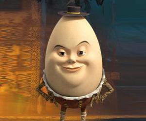 Puzle Humpty Dumpty, dávný přítel Kocour v botách