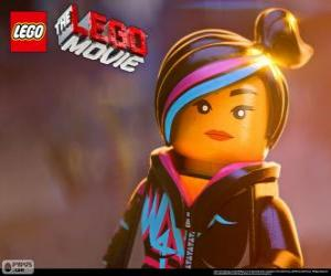 Puzle HUSTĚNKA, svobodný duch filmu Lego