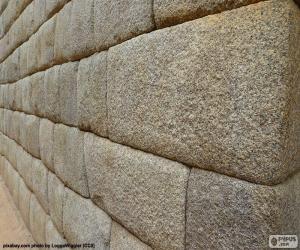 Puzle Inca kamenná zeď