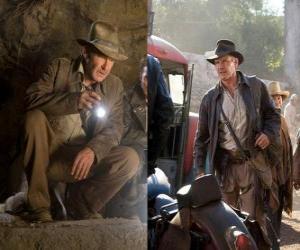Puzle Indiana Jones je jeden z nejslavnějších světových dobrodruhů