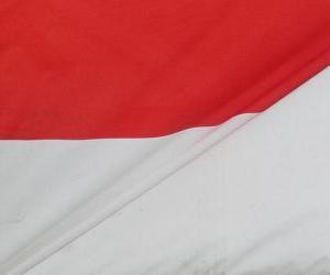 Puzle Indonéská vlajka