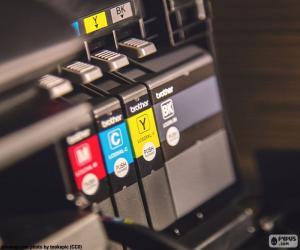 Puzle Inkousty pro tiskárny