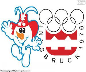 Puzle Innsbrucku zimních olympijských hrách 1976