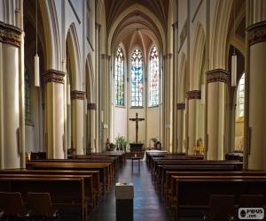 Puzle Interiér kostela