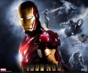 Puzle Iron Man má velice silné brnění, které mu umožňuje létat, dává nadlidskou sílu a speciální zbraně k dispozici