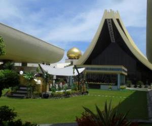 Puzle Istana Nurul Iman, Brunej