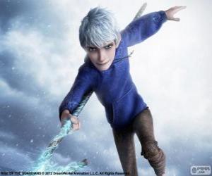 Puzle Jack Frost, je nadpřirozená bytost. Postava z Legendární Parta