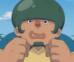 Puzle Jack Wallside nebo Heigoro Kabeyama je velký a plachý obránce Raimon jedenáct