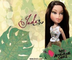 Puzle Jade: - Kool Kat - je Asie, se zelenýma očima. Jeho prostřední jméno je Marie, reprezentuje moudrost.