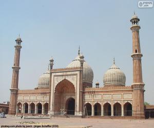 Puzle Jama Masjid, Indie