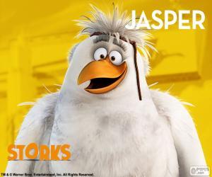 Puzle Jasper, Čapí dobrodružství