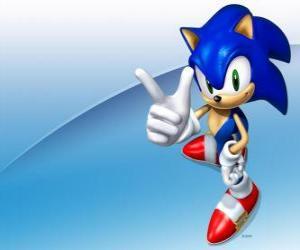 Puzle Ježek Soník, hlavní protagonista videohry Sonic série