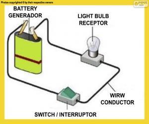 Puzle Jednoduchý elektrický obvod